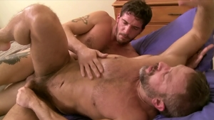 IconMale: Ty Roderick pounded by DILF Dirk Caber