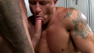 Extra Big Dicks: Nice big dick Sean Duran rimming