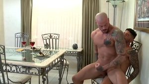 Pride Studios - Latino Johnny Hazzard agrees to hard ramming