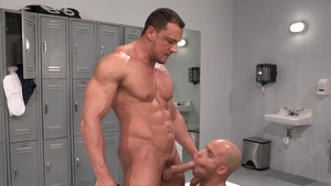 Hot House - Sean Zevran have sex with hairy Joey D in shower