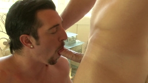 Falcon Studios: Very hot Jimmy Durano kissing