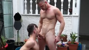 FalconStudios.com: Brian Bonds with Mason Lear outdoors
